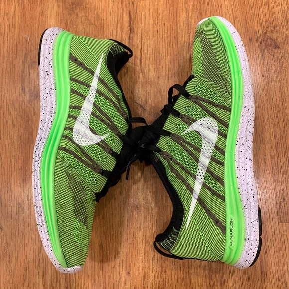 Nike Other - Nike Flyknit One + Electric Green